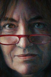 """Carmen"" Ruben Belloso, pastel drawing"