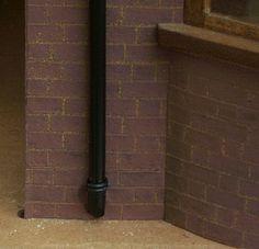 how to: exterior drainpipe