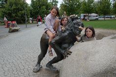 Hexentanzplatz Thale Duitsland (DDR) De Brocken  2009