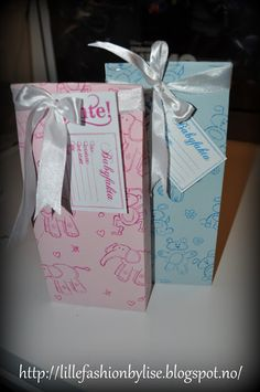 baby gift boxes lillefashion.by.lise Baby Gift Box, Baby Gifts, Gift Boxes, Container, Gift Wrapping, Gift Wrapping Paper, Wine Gift Sets, Wrapping Gifts, Gift Packaging