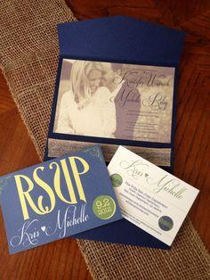 Victorian Wedding Invitation Set by Lobo Designs! so cute!