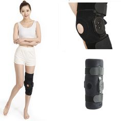 Adjustable Open Patella Support hinged knee brace , knee support brace/hinged knee support brace . Hinges are located on both sides of the knee for added support. Can be removed if less support is needed. Improves medial and lateral stability, helping reduce injury and assist recovery. Helps with strains, sprains, instability and patellar tracking. Hinged Knee Brace, Back Posture Corrector, Sprain, Braces, Stability, Recovery, Instruments, Medical, Amazon