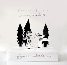 Sebastian and Sadie Figure Skater Download by tuesdaymourning, $4.99 {just need magnets and a cereal box}