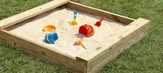 Dig for the hidden treasure! Drop pennies in and let your little one dig for the treasure. Keeps my busy one busy.