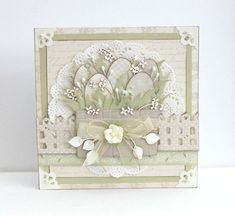 A Easter card by Johanna, featuring the Vintage Wedding collection