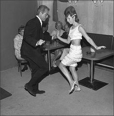 1964~Dancing the Go Go at a Sunset Strip nightclub in Los Angeles, California~♛
