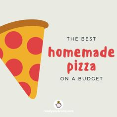 When you're trying to get out of debt, takeaways are hard to justify. Instead, check out my best homemade pizza on a budget recipe to satisfy your cravings! Frugal Meals, Budget Meals, Best Homemade Pizza, Money Saving Tips, I Am Awesome, Budgeting, Good Things, Debt Free, Feelings