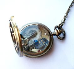 doctor who pocket watch necklace... Where can I get this?!
