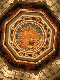 The HSBC roof mosaic
