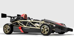 Ariel Atom 500. 500 stands for horse power in a car that weighs only 1350lbs and makes it faster than a Porsche 911 Turbo or a Ferrari 458 Italia. The Atom will do 0-60 in 2.3 seconds and will cost around $200,000.