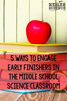 Students work at different paces in your classroom. Be ready when they finish early with these meaningful activities, and they will reward you by thinking outside the box. 7th Grade Science, Middle School Science, Elementary Science, Science Classroom, Science Education, Teaching Science, Early Education, Classroom Ideas, Physical Science