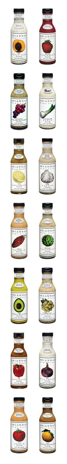 Brianna's Home Style Dressings