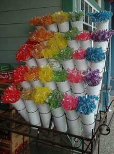 Sonia: Candy bouquets