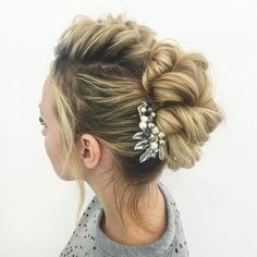awesome 45 Of The Greatest Updos For Long Hair --  Check more at http://newaylook.com/best-updos-for-long-hair/