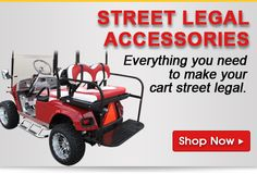 Cart Parts USA | Golf Cart Parts | Golf Cart Accessories | Buggies Unlimited... Everything you need to make your cart street legal.