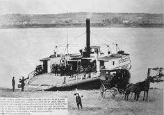 The Forest Queen Ferry          Date:        19th Century, Circa 1880           Location:        St. Mary's, Devon, Fredericton, New Brunswick, Canada