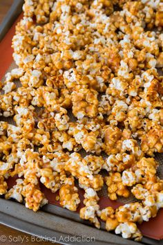 Homemade Caramel Corn -