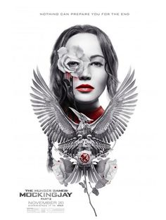 Flores e sangue em mais um cartaz de Jogos Vorazes: A Esperança - O Final - Notícias de cinema - AdoroCinema