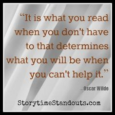 Storytime Standouts' guest contributor shares an Oscar Wilde quote and 10 ways to help middle grade students enjoy reading.  #reading #middlegrades #OscarWilde