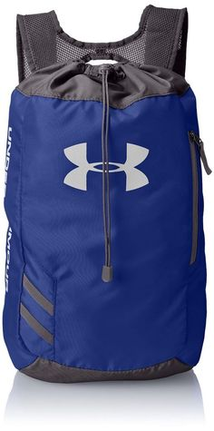 438c9e3aa77d Under Armour Trance Sackpack - Royal  UnderArmour Luggage Backpack