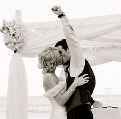 first married kiss. <3 I love it