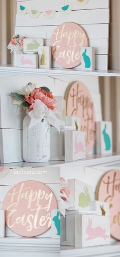 DIY Easter Crafts and Decorations - Cute Tutorials from Landeelu