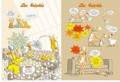 La Boutique Les Triplés - Les Grands albums à dos toilé