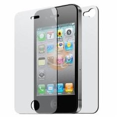 Front and Back Reusable Screen Protector for Apple iPhone 4 $0.95