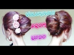 VOLUMINOUS PROM UPDO HAIRSTYLE    Awesome Hairstyles