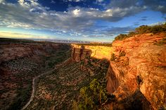 Ute Canyon, Colorado National Monument, Grand Junction, Colorado Grand Junction Colorado, Canyon Colorado, Le Colorado, Colorado Homes, Colorado Rockies, Places Around The World, Around The Worlds, States In Usa, Colorado National Monument