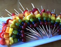 rainbow fruit kabobs!!!! perfect!!!