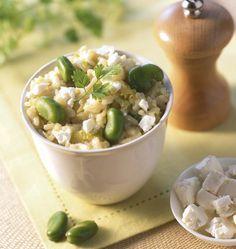 Risotto aux fèves, la recette d'Ôdélices : retrouvez les ingrédients, la préparation, des recettes similaires et des photos qui donnent envie !