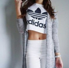 adidas, outfit, and fitness image 30 Outfits, Sporty Outfits, Jean Outfits, Outfits For Teens, Girl Outfits, Summer Outfits, Cute Outfits, Fashion Outfits, Beautiful Outfits