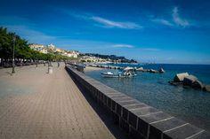Милаццо / Утро / набережная / #Milazzo #italia #sicily #sea #yacht #travel #marina #boat #seafront #morning #fotoolgavolyanskaya