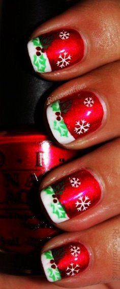 Simple Winter Short Nails Art Design Ideas 2018 2019 68 Nails