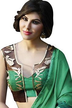 Sarees-With-Heavy-Blouse