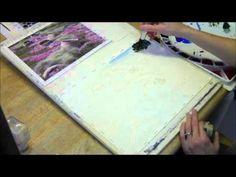 Watercolor Demo of a Garden Scene Part 1 by Lorraine Watry