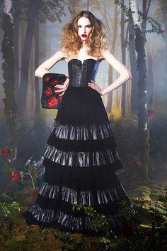cool dress - alice + olivia - fall/winter 2014