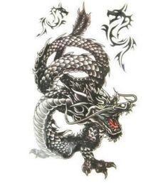 Dragon Temporary Tattoo