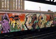LEE QUIÑONES http://www.widewalls.ch/artist/lee-quinones/ #graffiti #contemporary #art