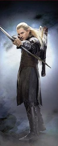 Legolas. One of 3 blondes I have ever been attracted to. The other 2 being Spike and Jeff Hardy.