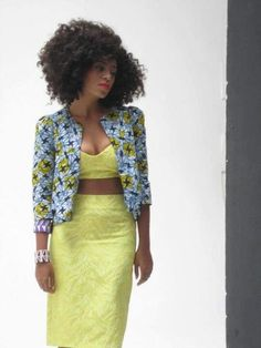 Image result for solange in african prints