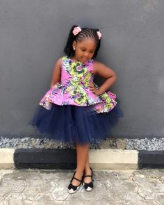 African Dresses For Kids, Latest African Fashion Dresses, Dresses Kids Girl, Kids Outfits Girls, Fashion Models, Kids Fashion, Baby African Clothes, Ankara Styles For Kids, Beautiful Ankara Styles