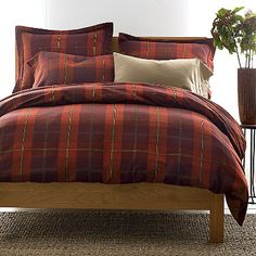 Essex Flannel Bedding or the duvet covers and the pillow cases
