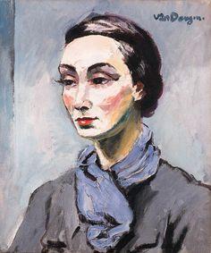 Kees van Dongen - Portrait de Madame Grès