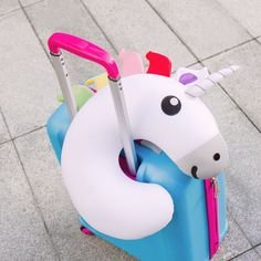 Unicorn Travel Pillow - Bestial beanbag