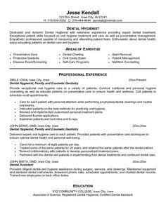 dental hygienist resume objective dental hygienist resume objective we provide as reference to make correct resume objective dental assistant