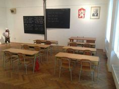 školní třída 60-70. léta