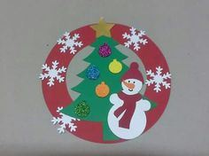 winter-wreath-craft-idea – Crafts and Worksheets for Preschool,Toddler and Kindergarten Christmas Crafts For Kids To Make, Preschool Christmas, Christmas Activities, Xmas Crafts, Winter Christmas, Kids Christmas, Christmas Wreaths, Christmas Decorations, Christmas Ornaments