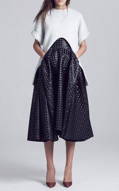 Maticevski Spring/Summer 2015 Trunkshow Look 22 on Moda Operandi Fashion Details, Love Fashion, Fashion Show, Fashion Design, Fashion Mode, High Fashion, Womens Fashion, Fashion Trends, Lookbook